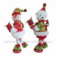 Christmas Craft for Standing Santa Snowman Bear