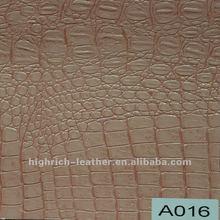 fashion Crocodile Leather Sofa/Leather Cinema Sofa/ sofa leather