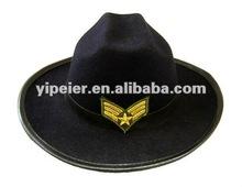 Mexica alla moda di marca ricamo feltro 100% pashm cappel