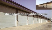 electric automatic overhead garage door design