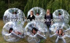 High quality human sized soccer bubble ball