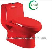DZO061 Ceramic Red Toilet