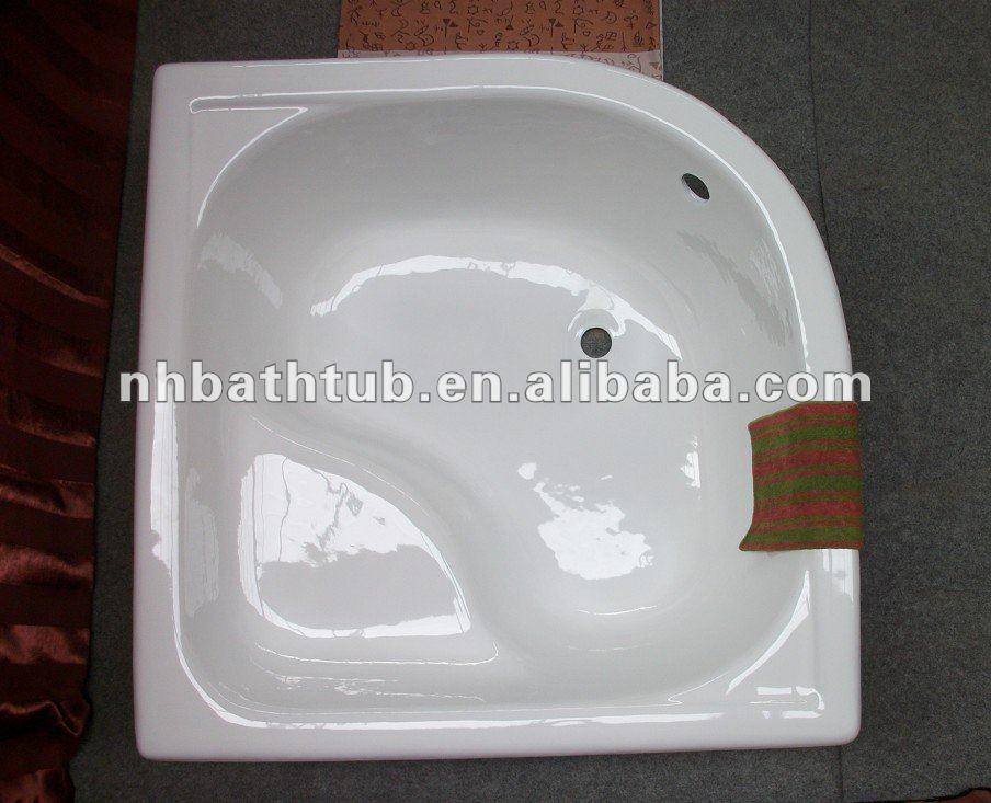 Fonte baignoire d 39 angle pas cher baignoire petite - Baignoire sur pied pas cher ...