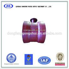 double socket flange branch tee,ISO 2531 DN300
