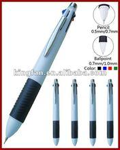 5 colors changing pen / 4 ball pen + 1 pencil