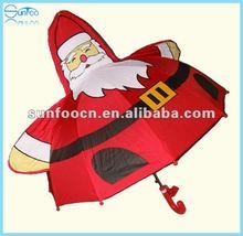 Christmas Santa claus kids umbrella