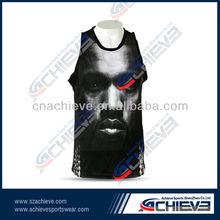 OEM manufacture black basketball clothing