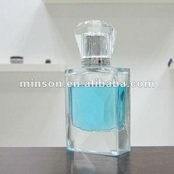 Sliver Sprayer Perfume Empty Glass Bottle