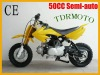 2014 New 50cc Dirt bike Pitbike Pocket Bike Minibike Motorcycle Motocross Semi-auto