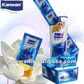 Kanwan lotus anti - caspa shampoo saquinho 8ml saquinhos shampoo