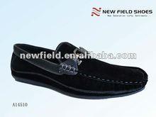 popular cheap stock men shoes black flat boat shoes for men new design men loafer shoes