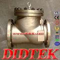 didtek bronce swing válvula de retención