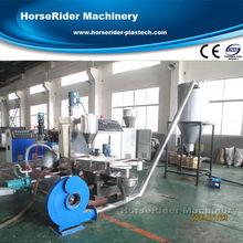 HDPE/LDPE film plastic granules making machine