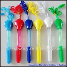 Promotional lanyard ball pen&bubble ballpoint pen CH-6156