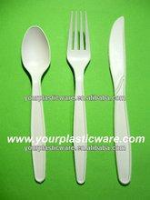 7'' Biodegradable utensil knife/ spoon/ fork