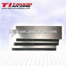 2012 HOT SALE ti6al4v titanium plates grade 5 for medical using