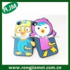 OEM!!!100% eco-friendly custom silicone phone case Xmas Gift