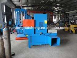 Horizontal Hydraulic rice husk baling machine