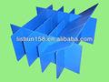 de polipropileno de plástico corrugado tablilla