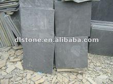 Natural black slate tile with random size