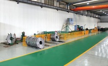high-frequency steel pipe production line