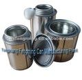 poder de lata redonda, latas del cilindro (para el uso del pegamento)