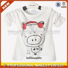 Fashion popular custom children's plain t-shirt wholesale (YCT-C0068)