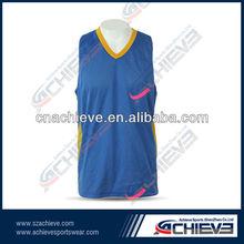 professional team design basketball top jerseys