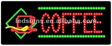 low price led coffee billboard/good sale coffee writing board/high quality led coffee sign