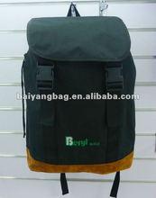 30L large capacity good quality black 600D backpack