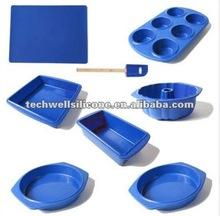(16 Pieces) silicone bakeware set