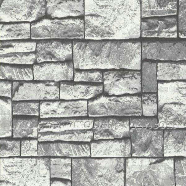 Tapeten Mediterranen Stil : 3D Stone Wall Paper