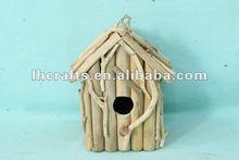 new home craft wood bird house