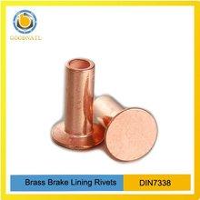 Brass Brake Lining Rivets DIN7338
