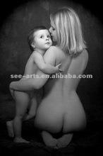 nuovo arrivato di alta qualità madre e figlio pittura