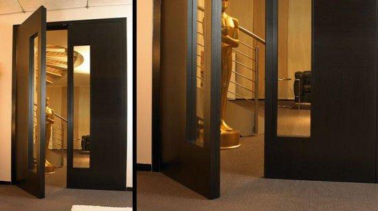 Doble hoja de la puerta de vidrio puertas identificaci n for Puertas doble hoja interior madera