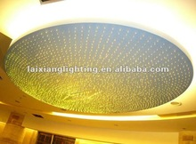 2013 hot sale fiber optic Crystal classic decoration ceiling light