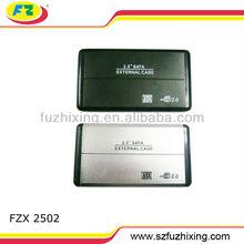 aluminum usb2.0 2.5'' sata/ide hdd case hard drive disk external hdd enclosure hdd box 1tb