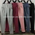 Buena calidad de dama casual pantalones de yoga 2014 nuevo niñas coreano ropa más del tamaño l-3xl deporte las mujeres de la marca pantalones holgados