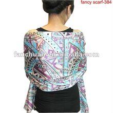fashion satin scarf 2012