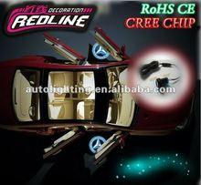 Newest design!!! 2012 12 V Redline car led door light