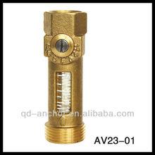 """Brass 3/4"""" Flow Meter Balancing Valve"""