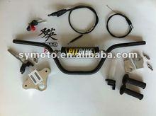 Dirt bike parts, performance crf50 handle bar kit