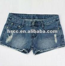 2012 Common Low-waist Plus size Sex fashion jeans shorts