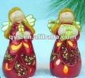 Figuras de cerámica de ángel, decorativos de cerámica de los ángeles