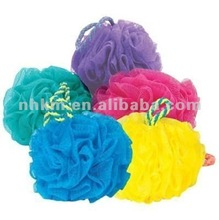 2012 nice body body wash mesh sponge for promotion