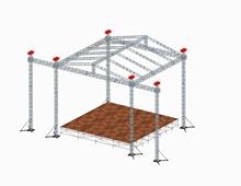 lighting truss,square truss tent,car exhibition tent