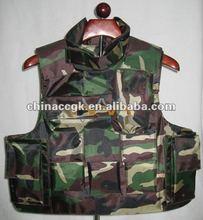 Korea Style Navy body armor/bulletproof jacket with camo