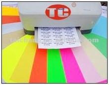 Coloured Laser/Inkjet Printer Label ( A4 sticker)