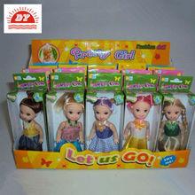 4inch little girl doll models